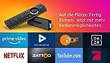 Fire TV Stick mit der neuen Alexa-Sprachfernbedienung, Zertifiziert und generalüberholt | Streaming-Media Player