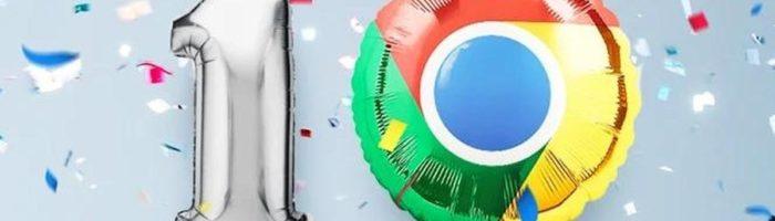 10 jahre google chrome