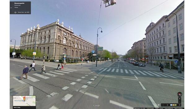 Google Maps Streetview Wien