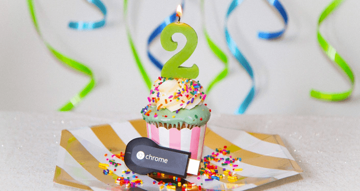 2 Jahre Chromecast