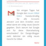 Chrome 27 auf Android Toolbar nicht ganz sichtbar