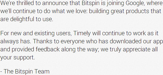 2014-01-04 23_30_22-Timely Alarm Clock - Bitspin is joining Google