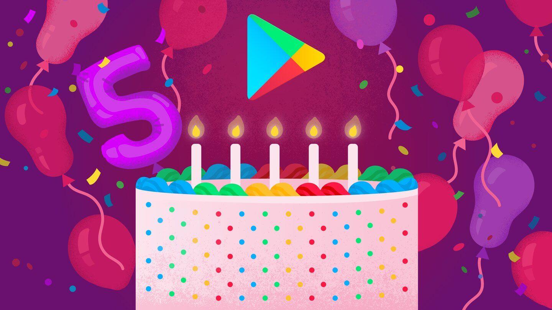 5 Jahre Google PLay