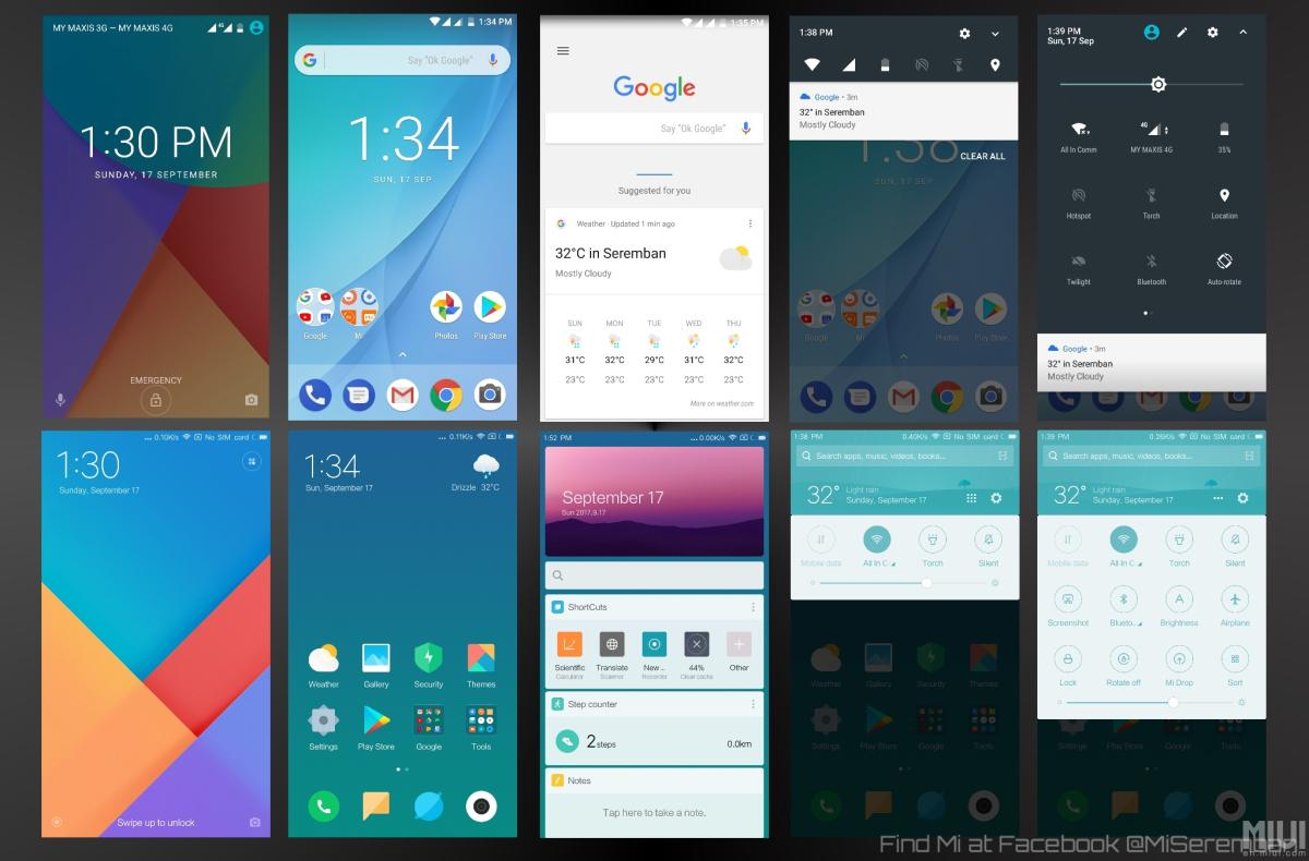 Android One vs MIUI 9