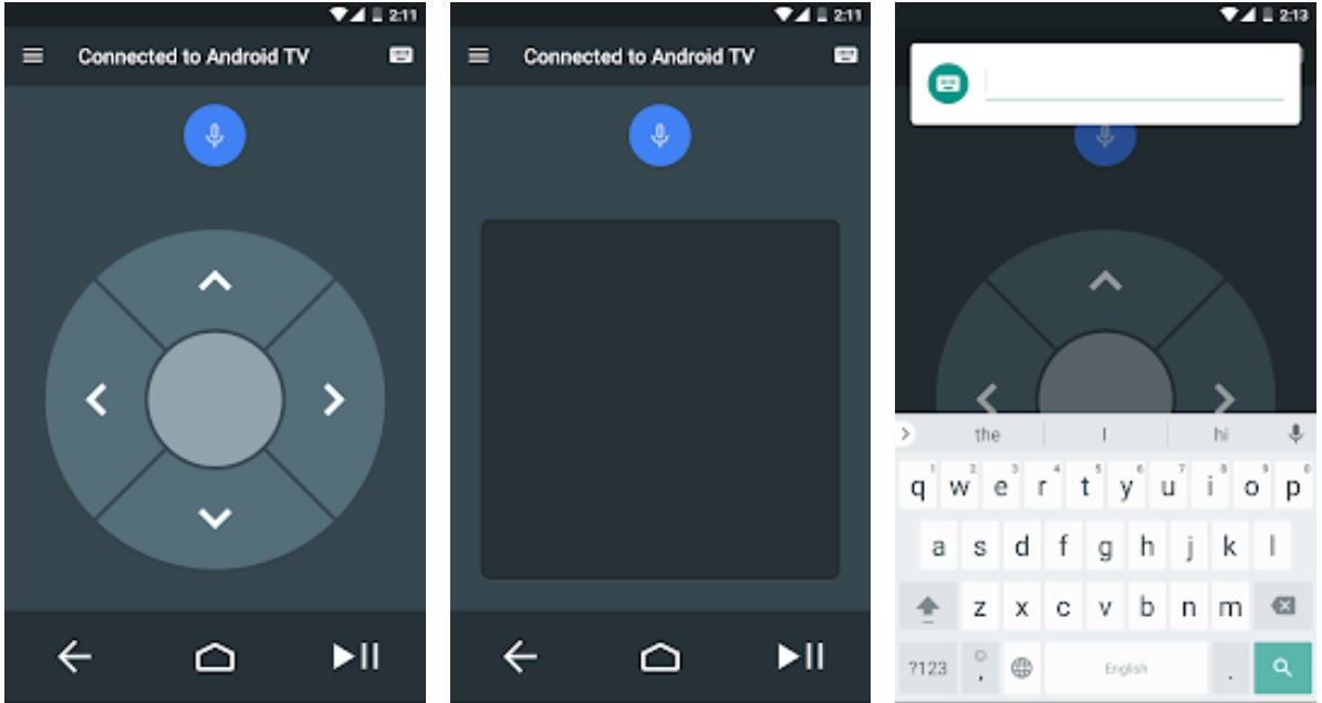 Android TV Remote Control Screenshots