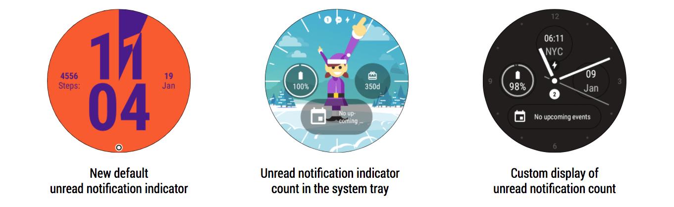 Android Wear ungelesene Benachrichtigungen
