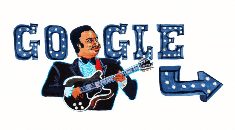 B. B. King Doodle