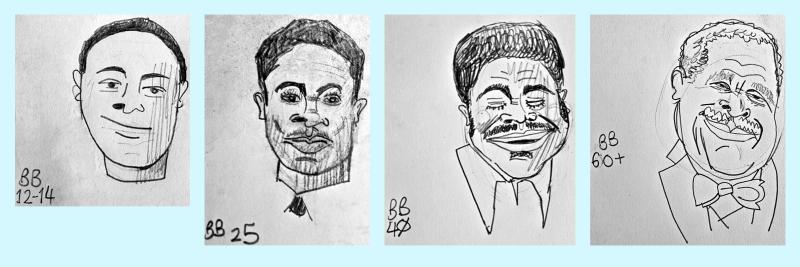 B. B. King Faces