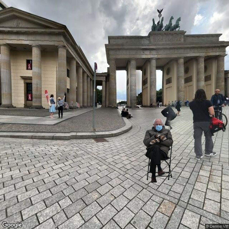 Bernie Brandenburger Tor