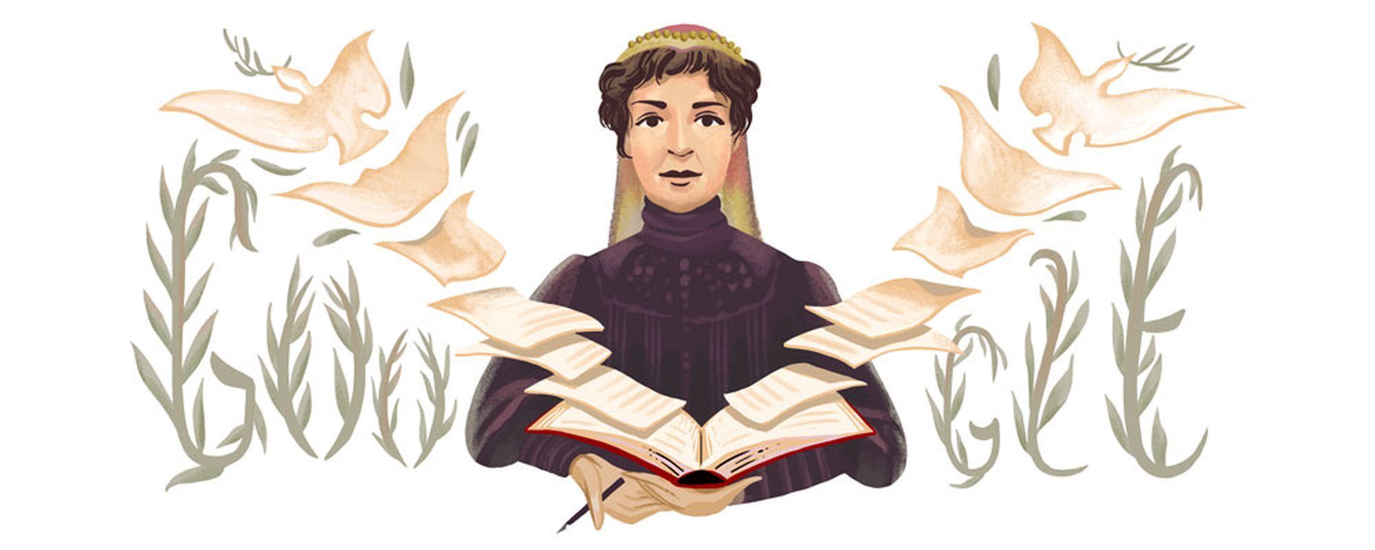 Bertha von Suttner Google Doodle