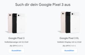 Pixel 3 Rabatt
