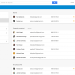 Contacts preview 1.5