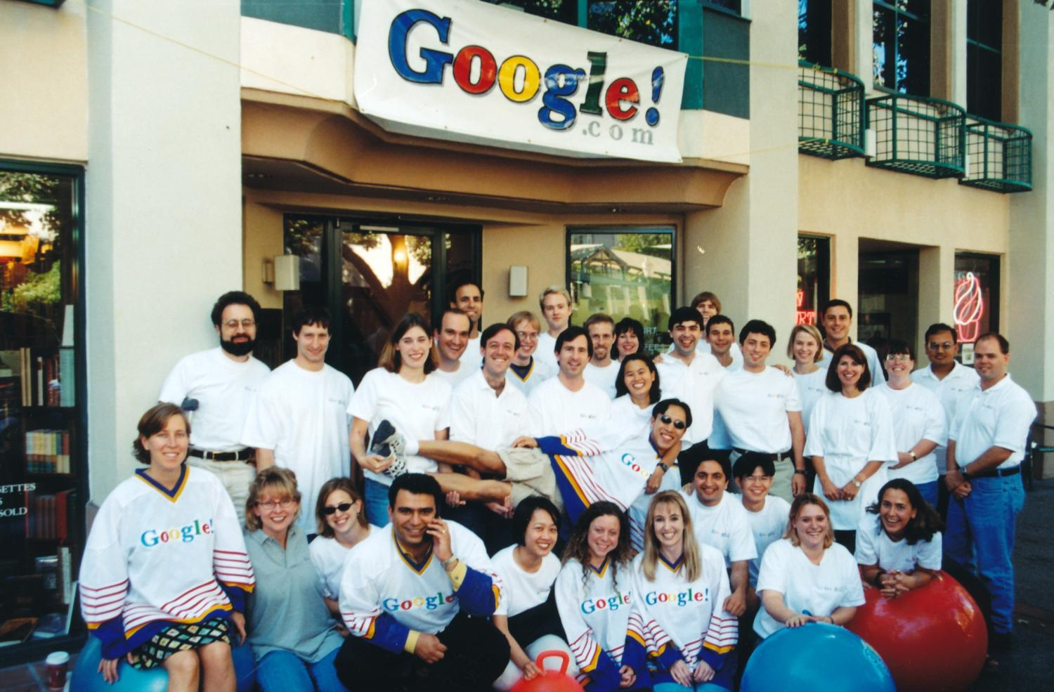 Early Googlers team photo