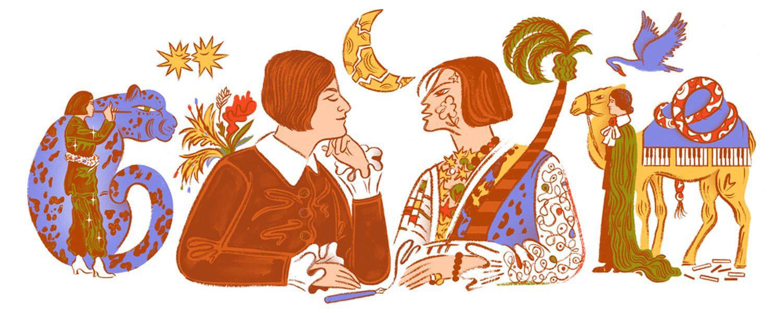 Else Lasker-Schüler Google-Doodle