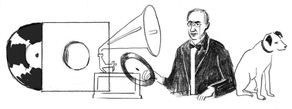Emil Berliner Entwurf 2