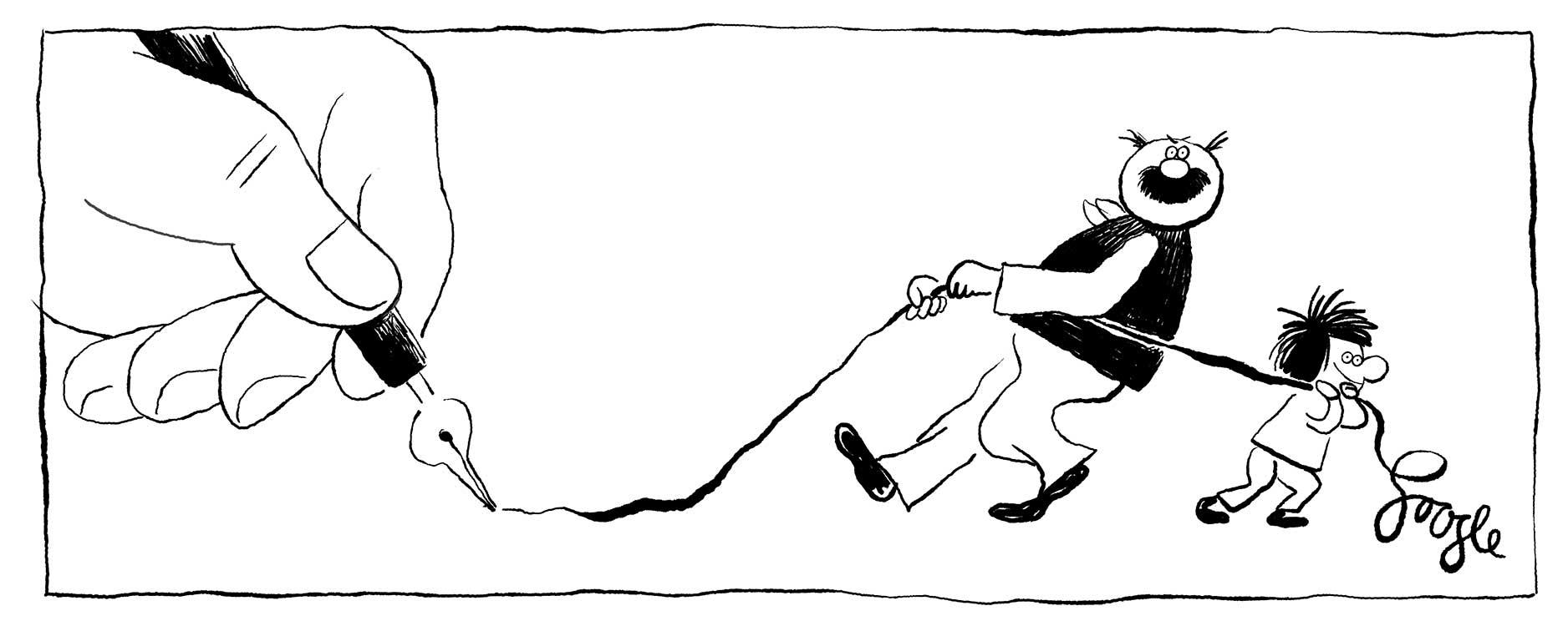 Erich Ohser Entwurf