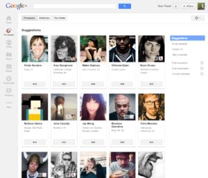 Neue Leute in Google+ finden