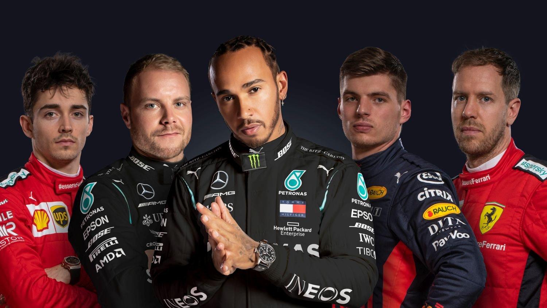 Formel 1 Fahrer 2020