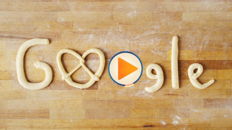 Geschichte der Brezel Google Doodle