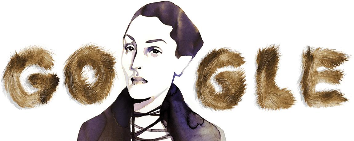 Google-Doodle 104. Geburtstag von Meret Oppenheim
