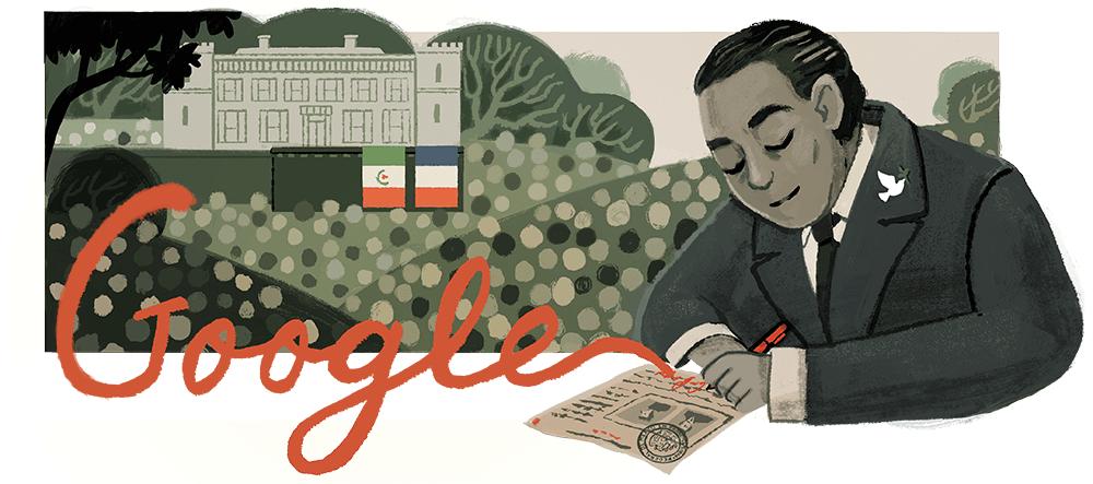 Google Doodle 125. Geburtstag von Gilberto Bosques Saldívar