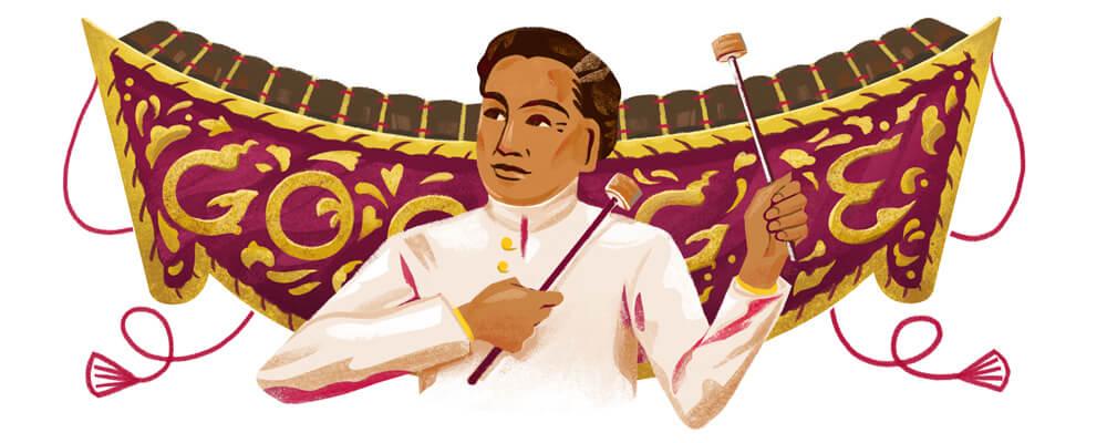 Google Doodle 136. Geburtstag von Luang Pradit Phairoh