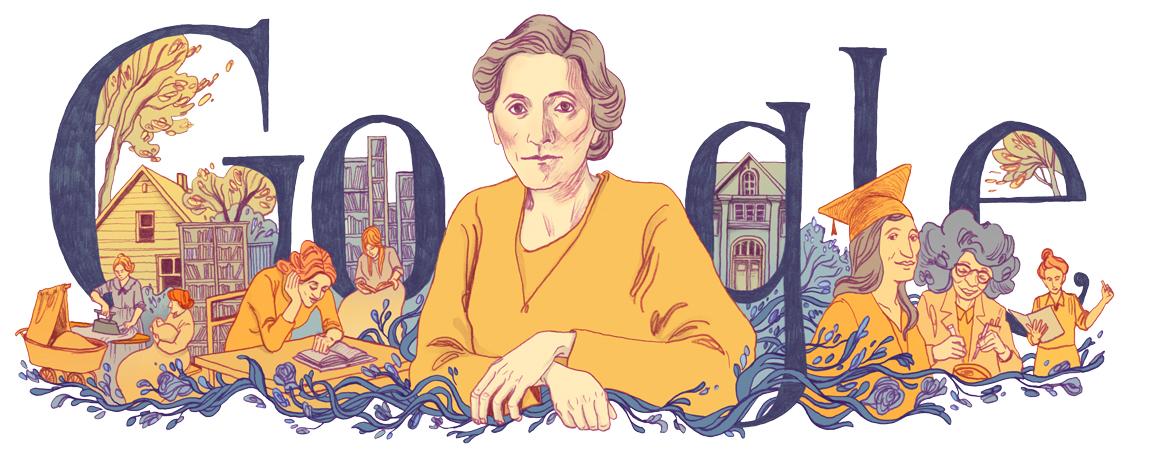 Google-Doodle 146 Geburtstag Alice Salomon