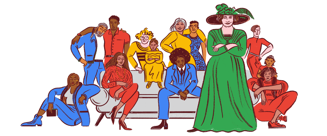 Google-Doodle 148 Geburstag Helene Stöcker