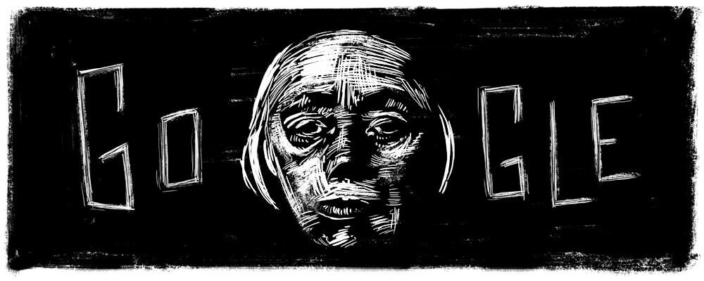 Google-Doodle 150. Geburtstag von Kätze Kollwitz
