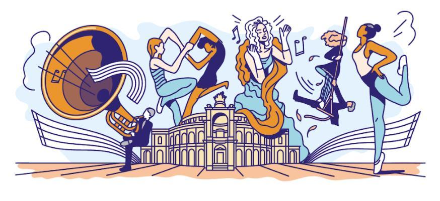 Google Doodle 177 Jahre Semperoper Entwurf 2