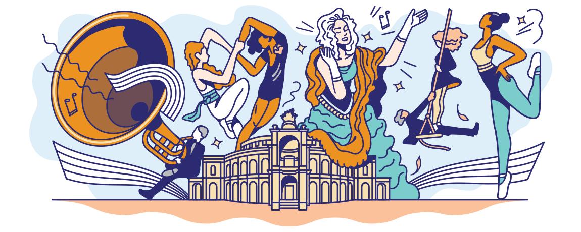 Google-Doodle 177 Jahre Semperoper