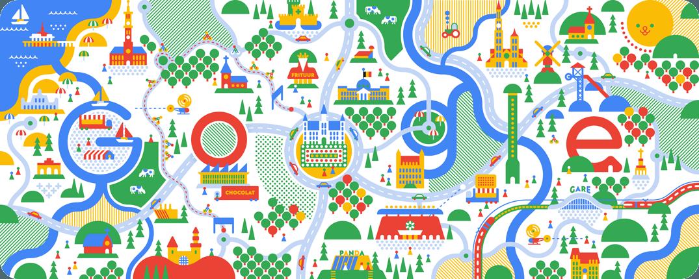 Google Doodle Belgischer Nationalfeiertag 2017