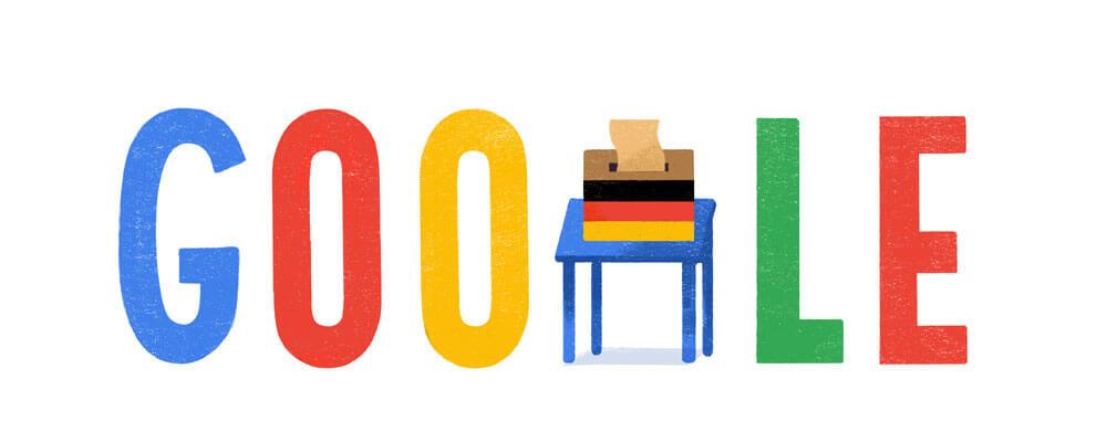 Google-Doodle Bundestagswahl 2017