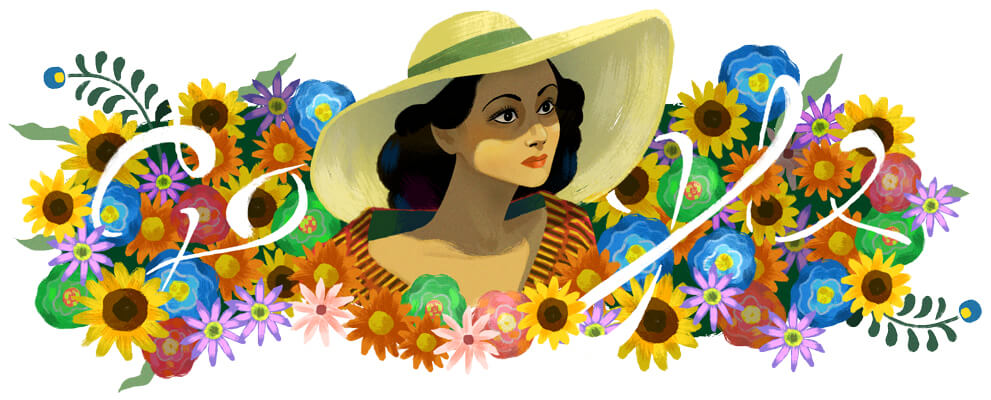 Google Doodle Celebrating Dolores del Río