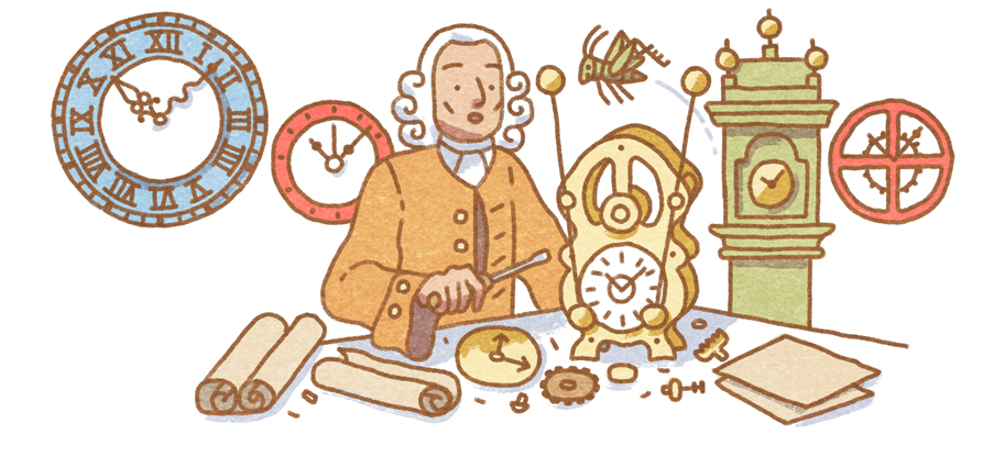 Google-Doodle John Harrison