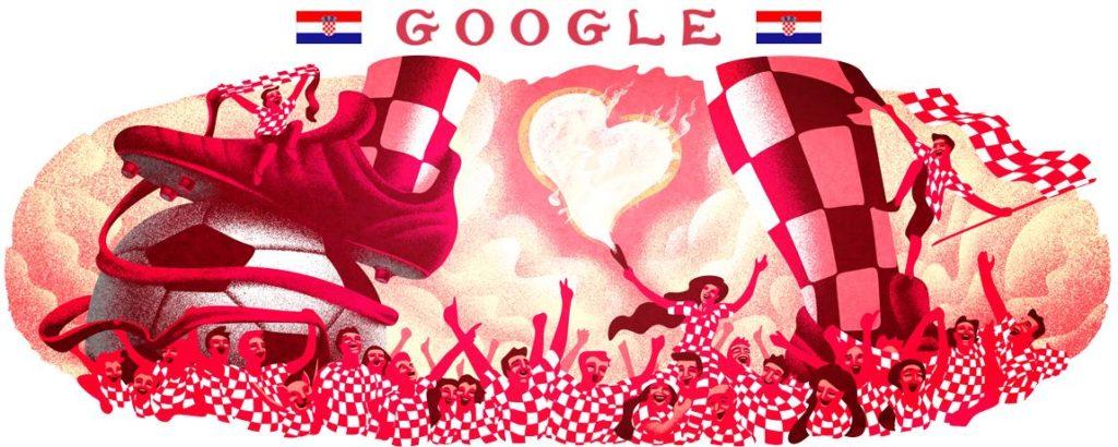 Google-Doodle Kroatien
