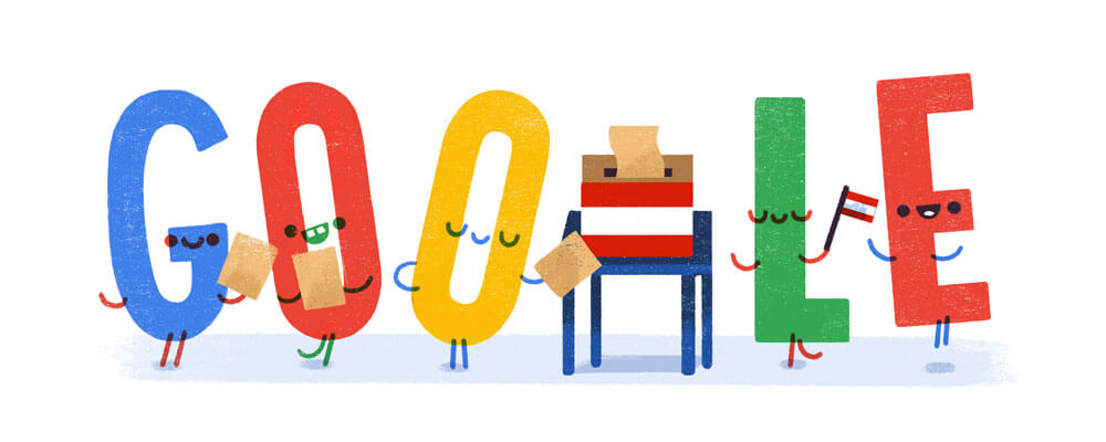 Google-Doodle Nationalratswahl 2017