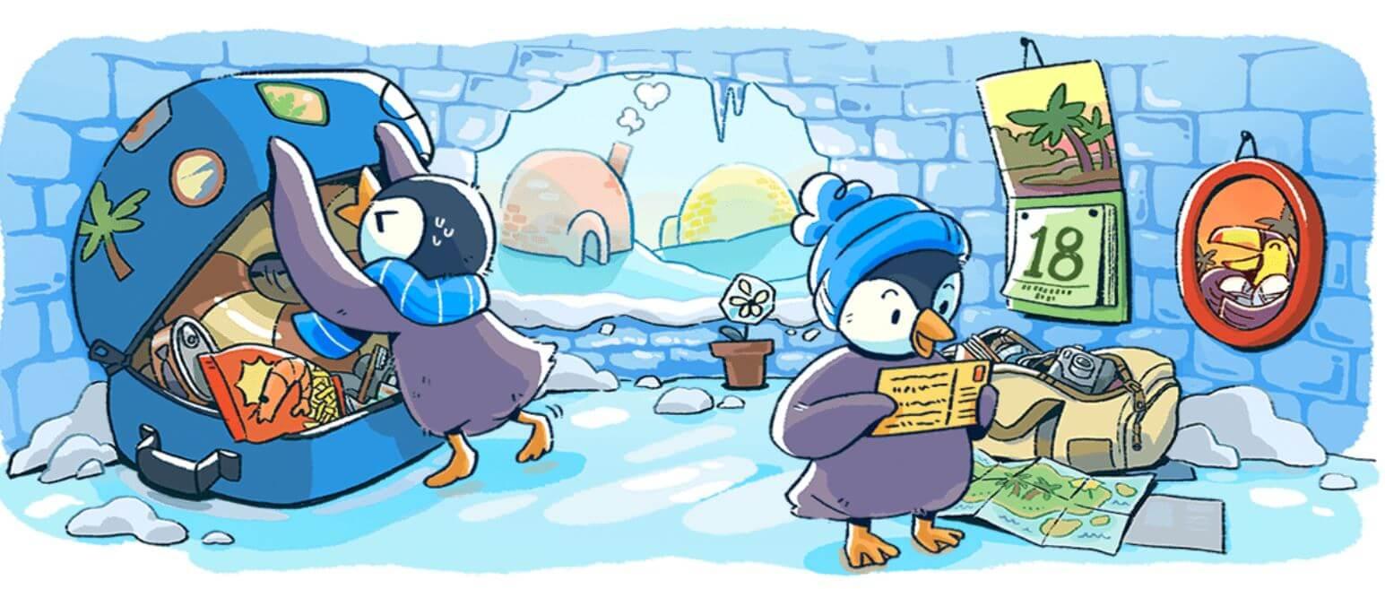 Google Doodle Neujahr Serie 2