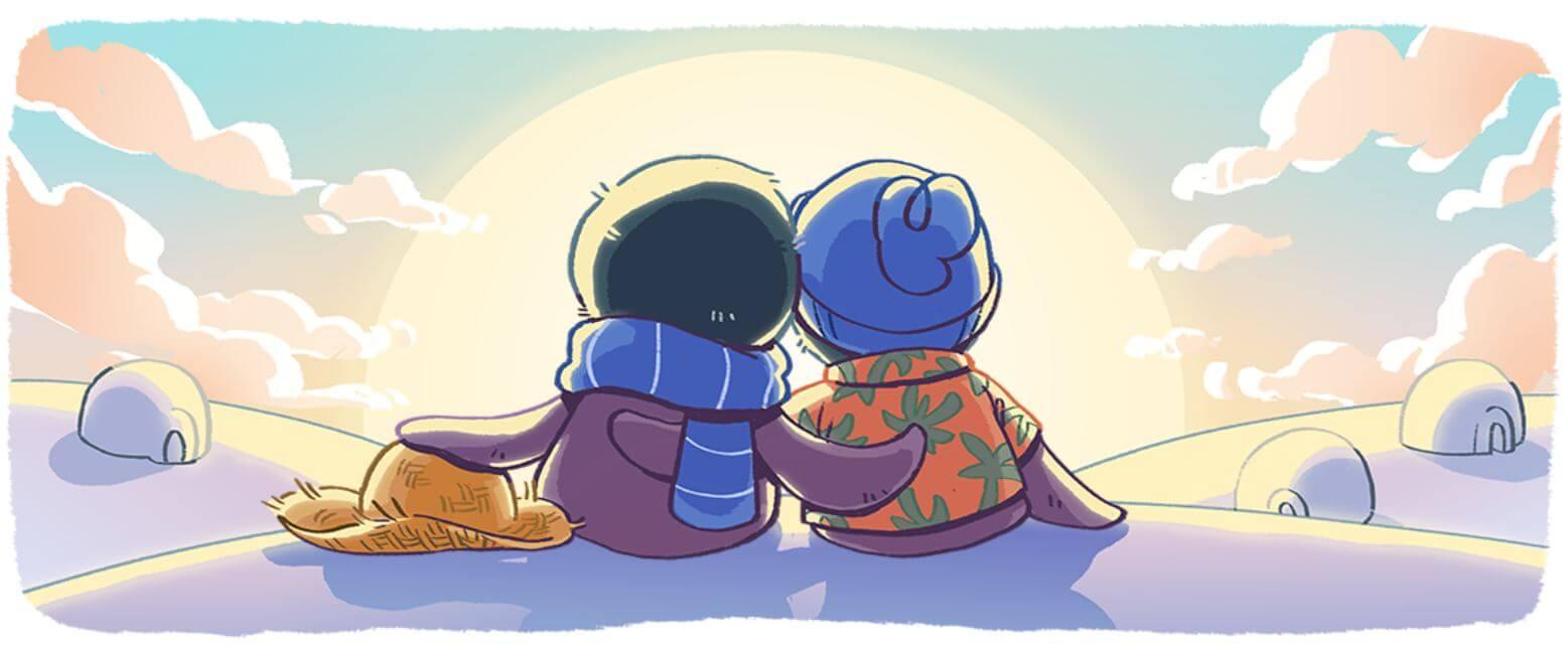 Google Doodle Neujahr Serie 5