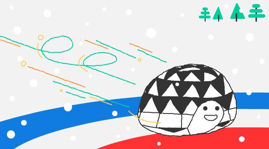 Google-Doodle Olympische Winterspiele Curling