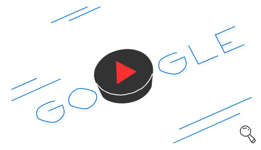 Google-Doodle Olympische Winterspiele Snow Games Tag 9 Doodle