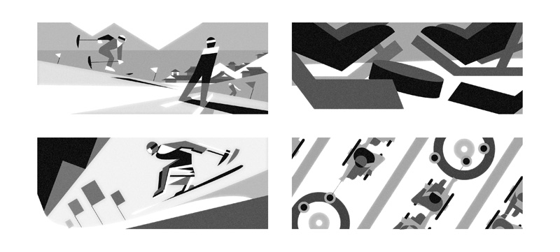 Google-Doodle Paralympics 2018 Entwurf 2