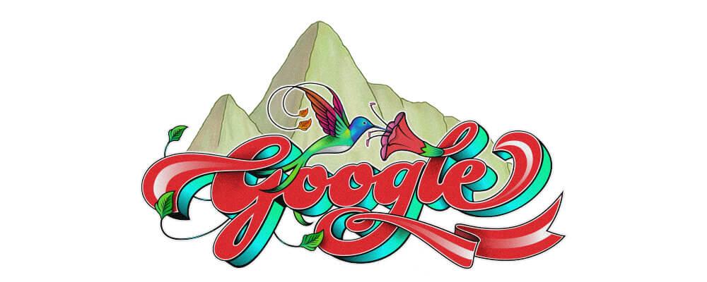 Google Doodle Peruanischer Nationalfeiertag 2017