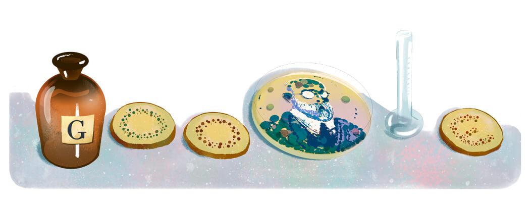 Google Doodle Robert Koch