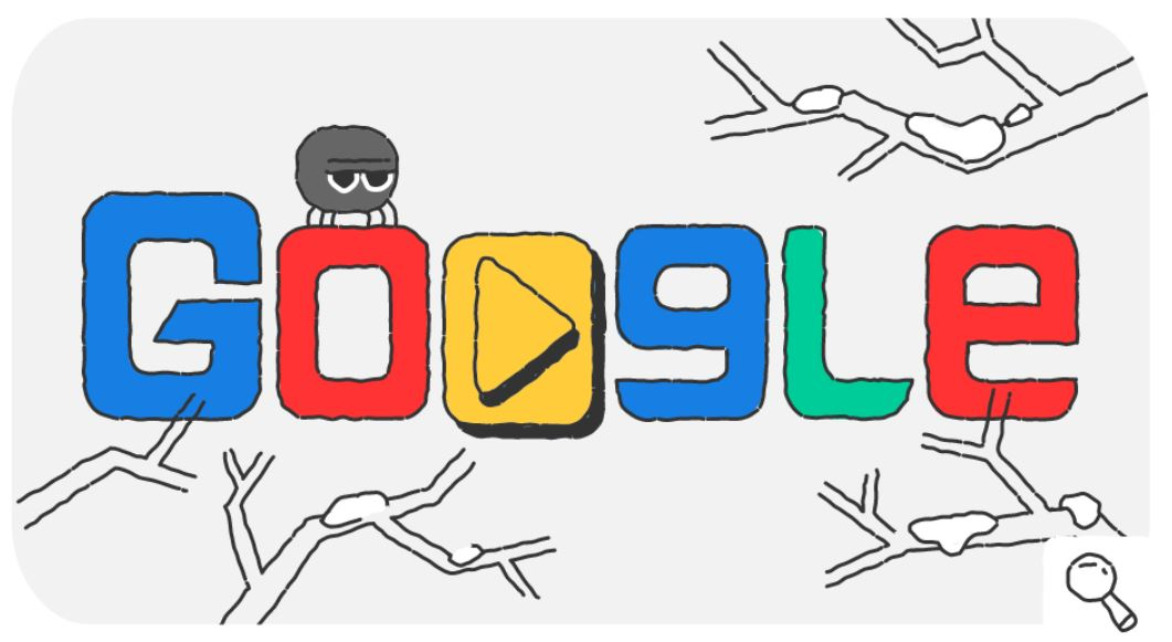Google-Doodle Snow Games Olympische Winterspiele 2018 Tag 7