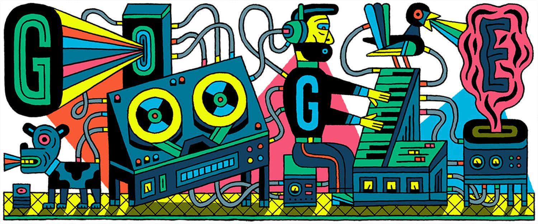 Google-Doodle-Studio-für-elektronische-Musik