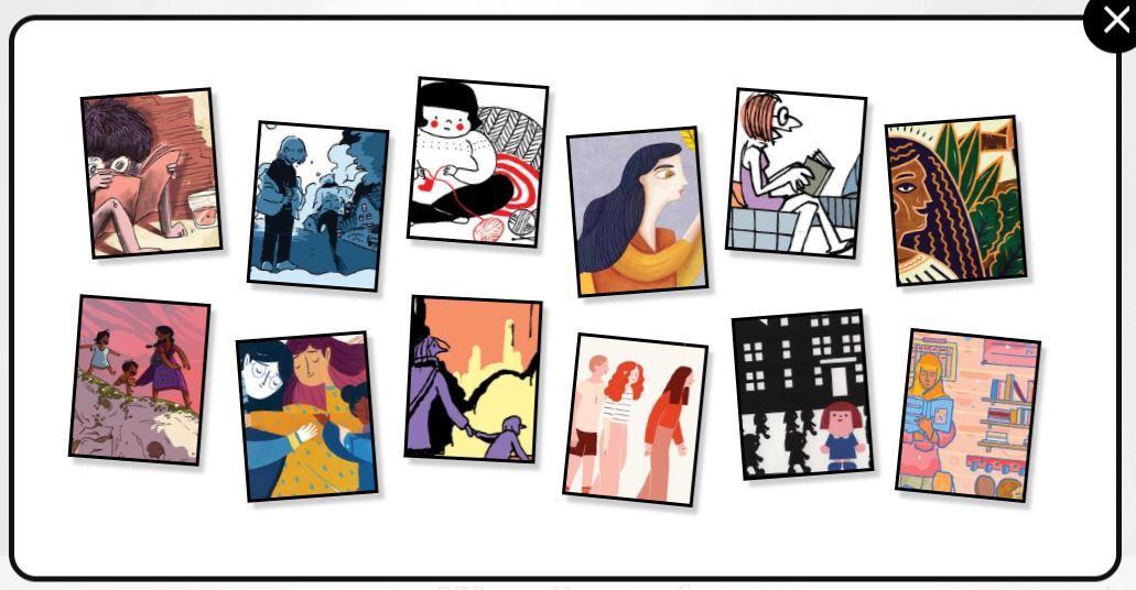 Google-Doodle Weltfrauentag Doodle Geschichten