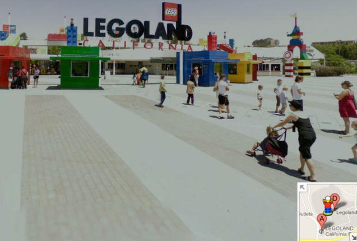 Google Maps Streetview Pegman LEGO