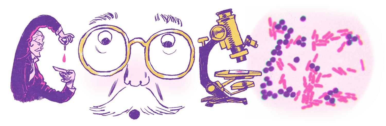 Hans Christian Gram Google Doodle 166 Geburtstag