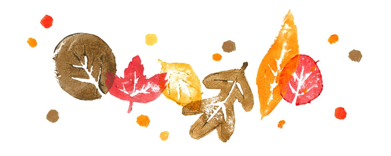 Herbstanfang 2021 Google Doodle